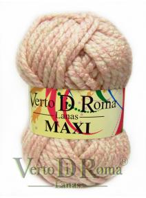 Ovillo Lana Maxi Multicolor Rosa Bebe