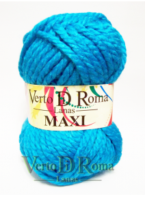 Ovillo Lana Maxi Azul