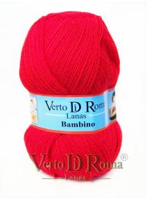 Ovillo Lana Bambino Rojo