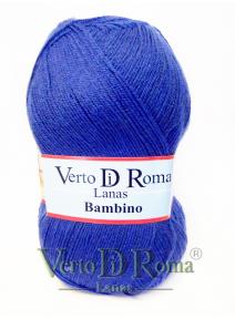 Ovillo Lana Bambino Azul Eléctrico