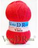 Ovillo Lana Vinia Rojo Vivo