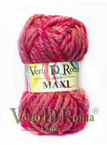 Ovillo Lana Maxi Multicolor Rosa y Fucsia