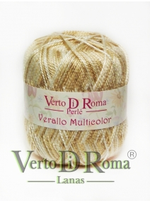 Hilo Perlé Verallo Multicolor Colores Beige
