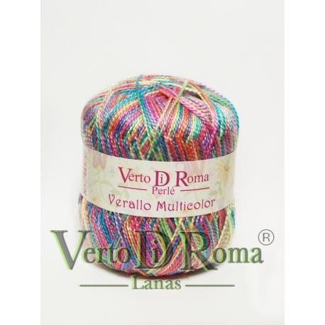 Hilo Perlé Verallo Multicolor en colores Variados