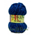 Ovillo Lana Maxi Multicolor Azules Oscuro