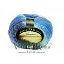 Ovillo Lana Bruma Multicolor en Azules