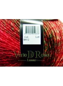 Ovillo Lana Bruma Multicolor en Rojos