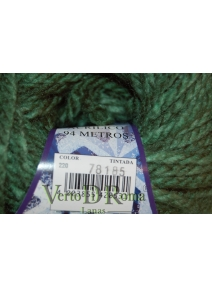 Ovillo Lana Polar Multicolor Verde