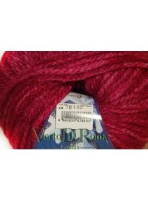Ovillo Lana Polar Multicolor Rojo