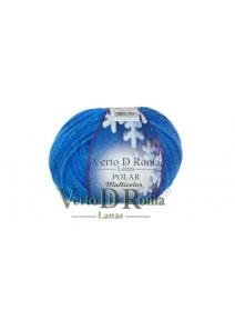 Ovillo Lana Polar Multicolor Azul