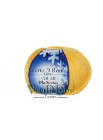 Ovillo Lana Polar Multicolor Amarillo