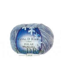 Ovillo Lana Polar Multicolor Azul Claro