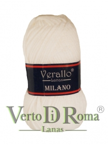 Ovillo Lana Verallo Milano Blanco