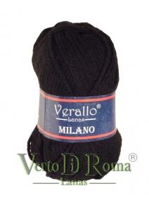 Ovillo Lana Verallo Milano Negro