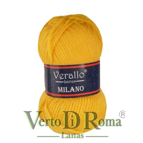 Ovillo Lana Verallo Milano Amarillo Pollo