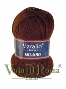 Ovillo Lana Verallo Milano Marron Chocolate