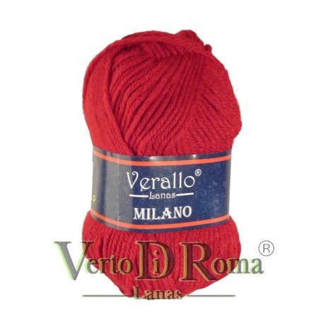 Ovillo Lana Verallo Milano Rojo 2