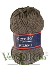 Ovillo Lana Verallo Milano Marron Medio