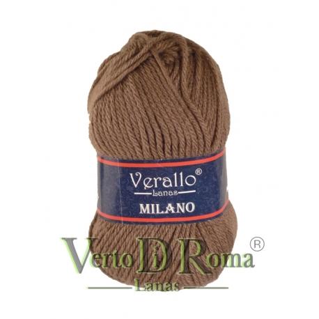 Ovillo Lana Verallo Milano Marron Oscuro