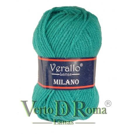 Ovillo Lana Verallo Milano Verde Esmeralda