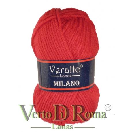 Ovillo Lana Verallo Milano Rojo 3