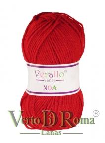Ovillo Lana Verallo Noa Rojo 2