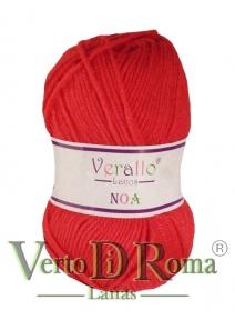 Ovillo Lana Verallo Noa Rojo 3