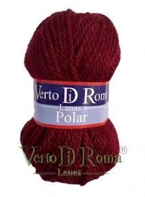 Ovillo Lana Polar Rojo Tinto