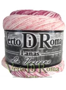 Ovillo Lana Toscana Matizado Rosa