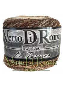 Ovillo Lana Toscana Matizado Marron