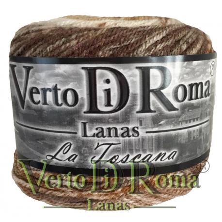 Ovillo Lana Toscana Matizado Marrones