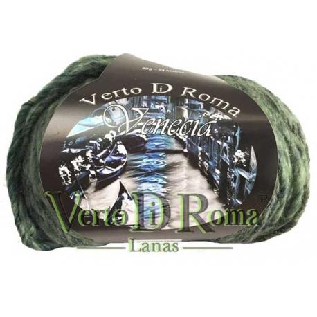 Ovillo Lana Venecia Multicolor Verdes