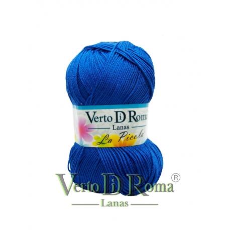 Ovillo Lana La Picola Azul Electrico