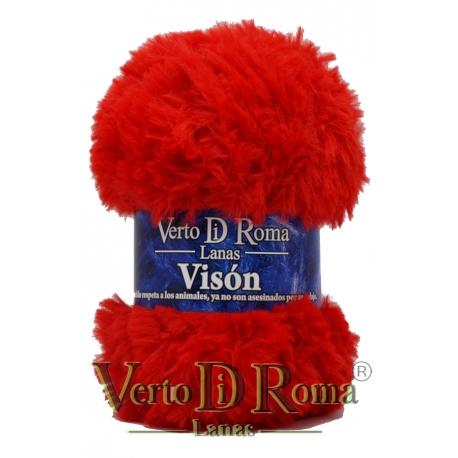Ovillo Lana Vison Rojo