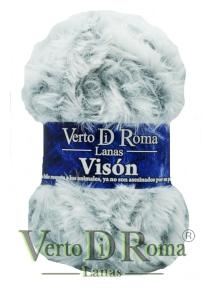 Ovillo Lana Vison Multicolor Gris