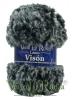 Ovillo Lana Vison Multicolor Gris Oscuro