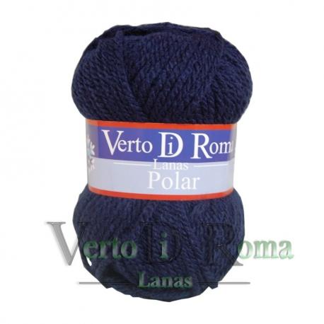 Ovillo Lana Polar Azul Marino