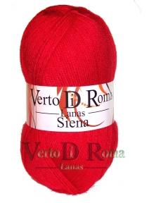 Ovillo Lana Siena Rojo