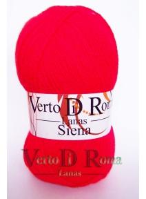 Ovillo Lana Siena Rojo Vivo