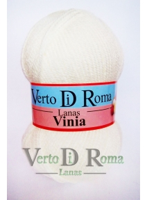Ovillo Lana Vinia Blanco Roto