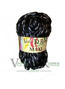 Ovillo Lana Maxi Multicolor Negro y Blanco