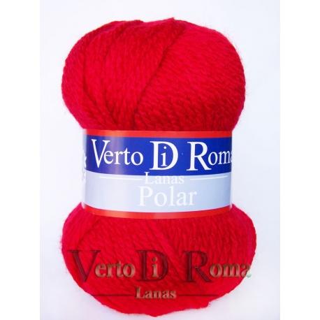 Ovillo Lana Polar Rojo Vivo