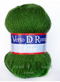 Ovillo Lana Polar Verde Kelly