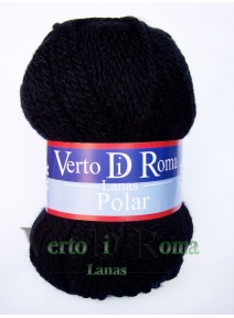 Ovillo Lana Polar Negro