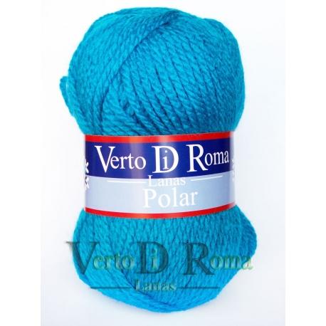 Ovillo Lana Polar Azul Pitufo