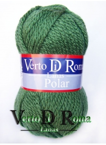 Ovillo Lana Polar Verde