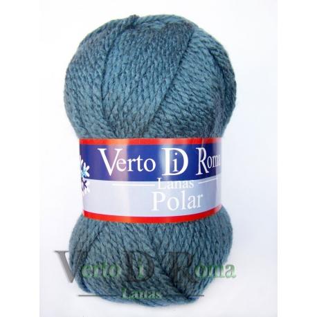 Ovillo Lana Polar Azul Grisáceo