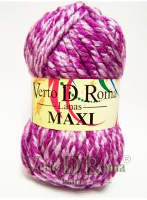 Ovillo Lana Maxi Multicolor Malva