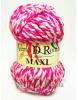 Ovillo Lana Maxi Multicolor Rosa